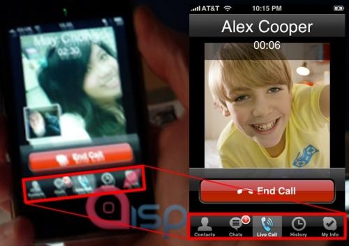 iPhone iChat Leak Fake