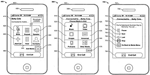 Apple iPhone Patent 2