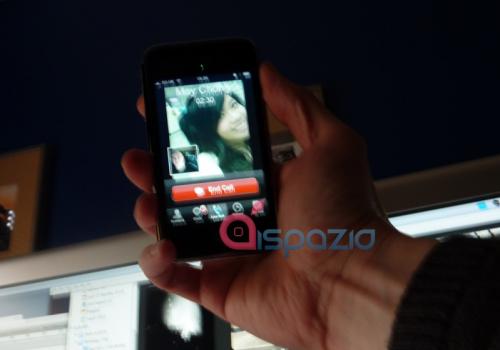 iPhone iChat 2