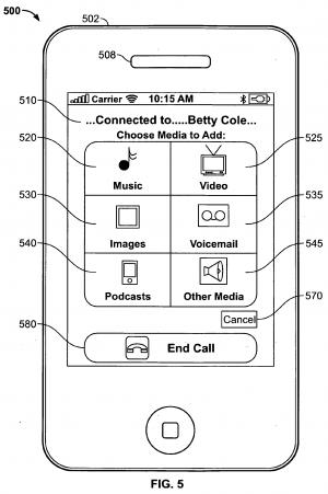iPhone Media Sharing Patent