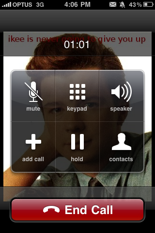 Rickroll iPhone Worm