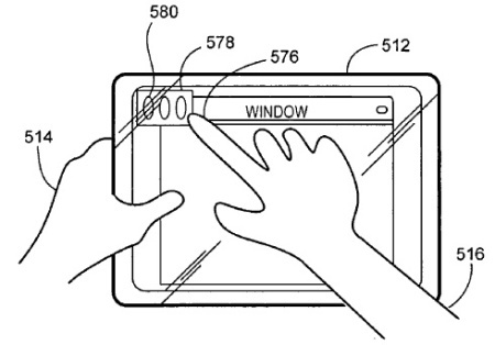 Apple Touchscreen Patent