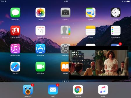 PiP Mode on iOS 9.1